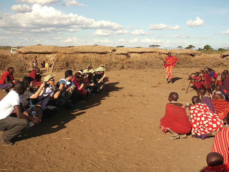 Exploring Culture During Safari