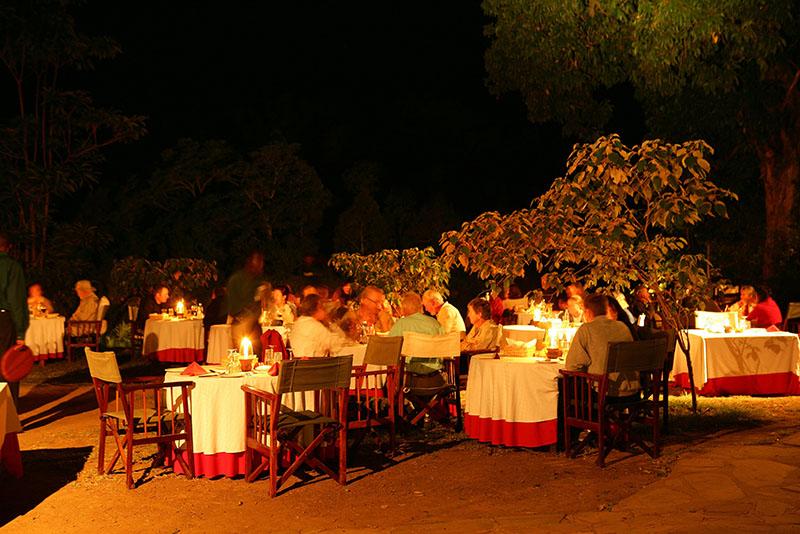 Dinner During African Safaris