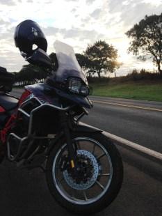 700GS na estrada