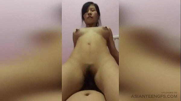 Horny Chinese MILF rides the cock of her husband