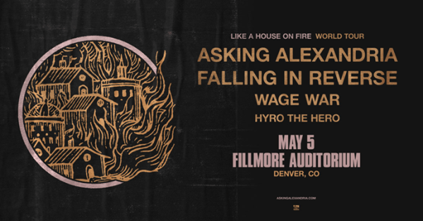 Asking Alexandria/Falling in Reverse Announce New Tour Coming to Denver