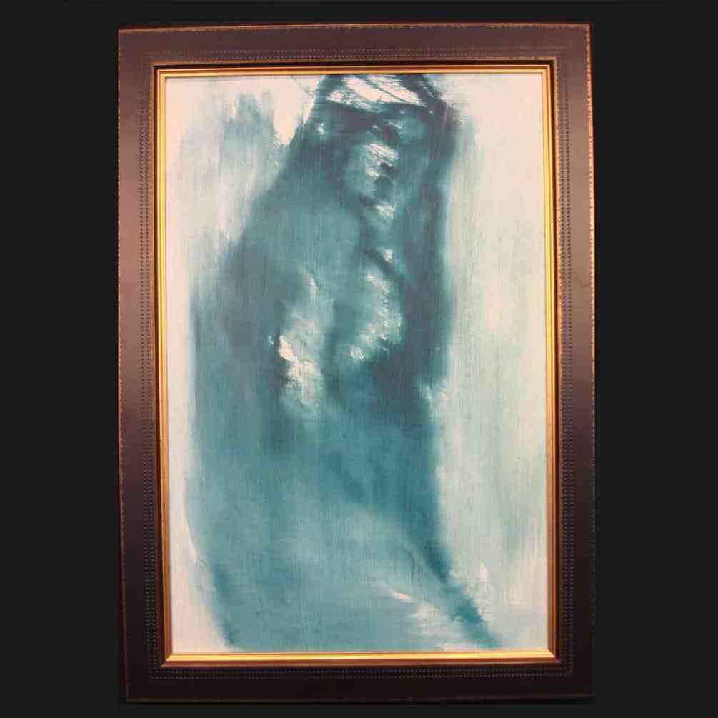 Armando Bertoli - Blue Nude - Dimensions: 16x24