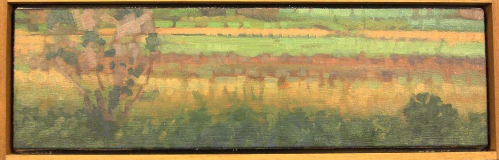 John Harris: Field Scene - Dimensions: 6x20