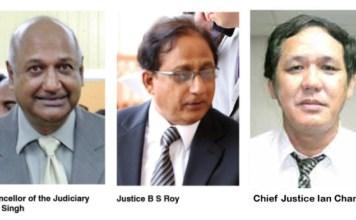 Guyana, Third Term, CCJ, Constitution