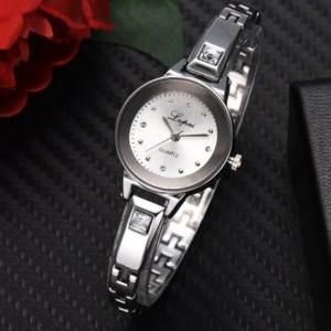 Bracelet Rose Gold Quartz Watch