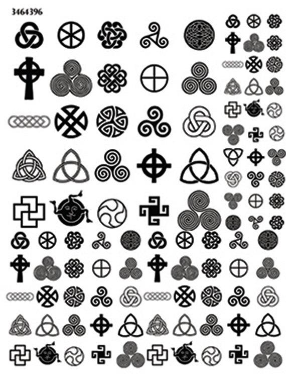 celtic design symbols 3464396