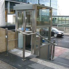 X3 Wheelchair Glider Chair Platform Lifts Designed For Disabled Access. Installed By Xpress