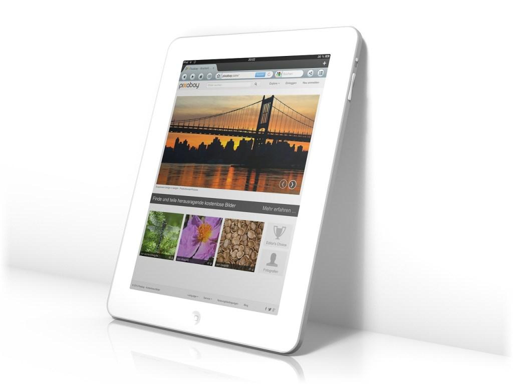 tablet, ipad, screen