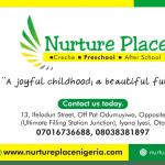 Nurture Place Nigeria, Ota.