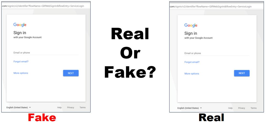 Gmail Phishing