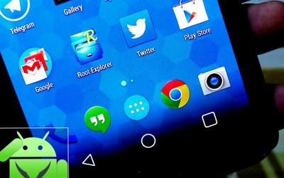 [فيديو] طريقة تغيير اشكال الازرار الخاصة بجهازك الاندرويد الي شكل ازرار Android L