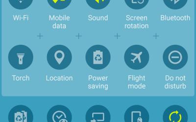 """حل مشكلة اختفاء أيقونة """"البيانات"""" في Galaxy S6"""