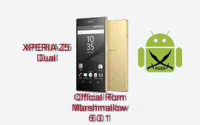 الروم العربي الرسمي مارشميلو 6.0.1 لجهاز XPERIA Z5 Dual طراز E6633