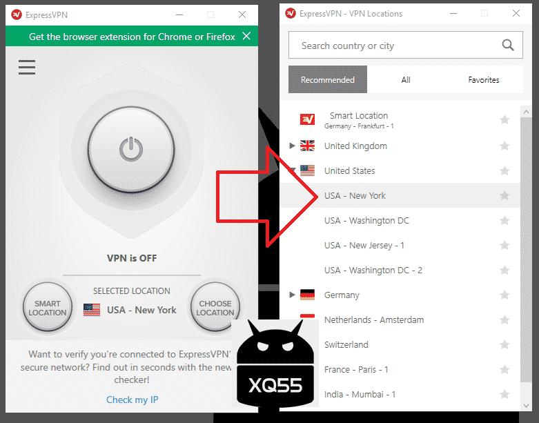 6b612aa90 خامسا وال VPN يعمل على دولة أمريكا اذهب لسي كلينر الذي ركبت سابقا وامسح  البيانات مثل الصورة: