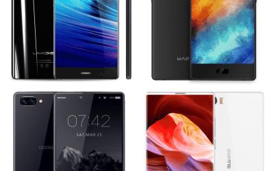 هواتف استغلال المساحات المتوسطة Bezel Less Smart Phones