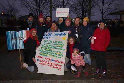 XR Familien und Parents for future: Familienprotest für echten Klimaschutz