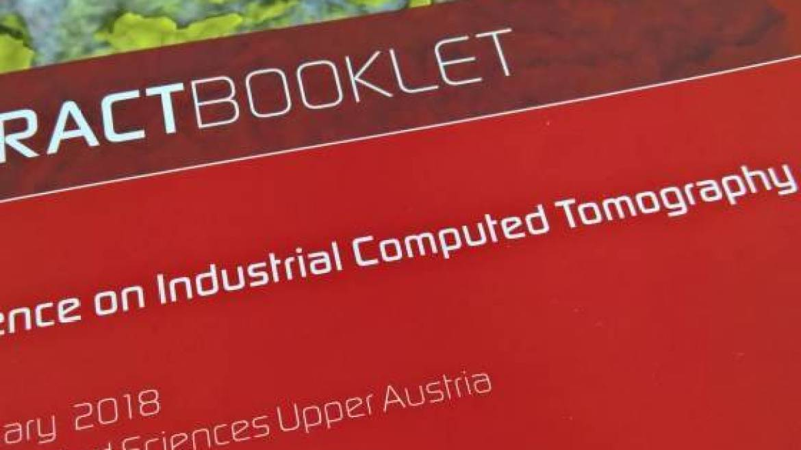 Conference on industrial Computed Tomography