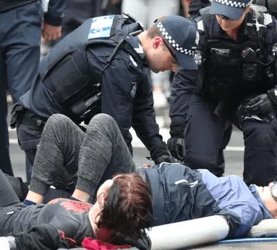 mealbourne protest