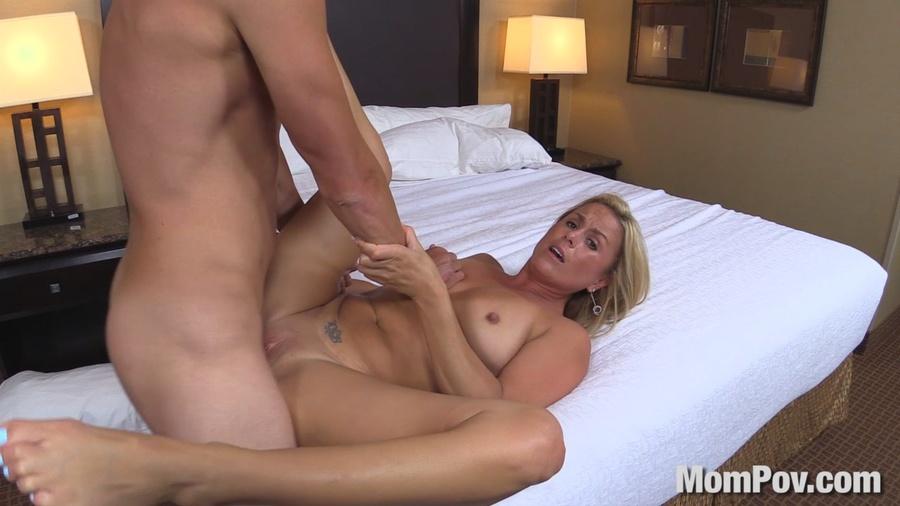 Natural Blonde Milf Pov
