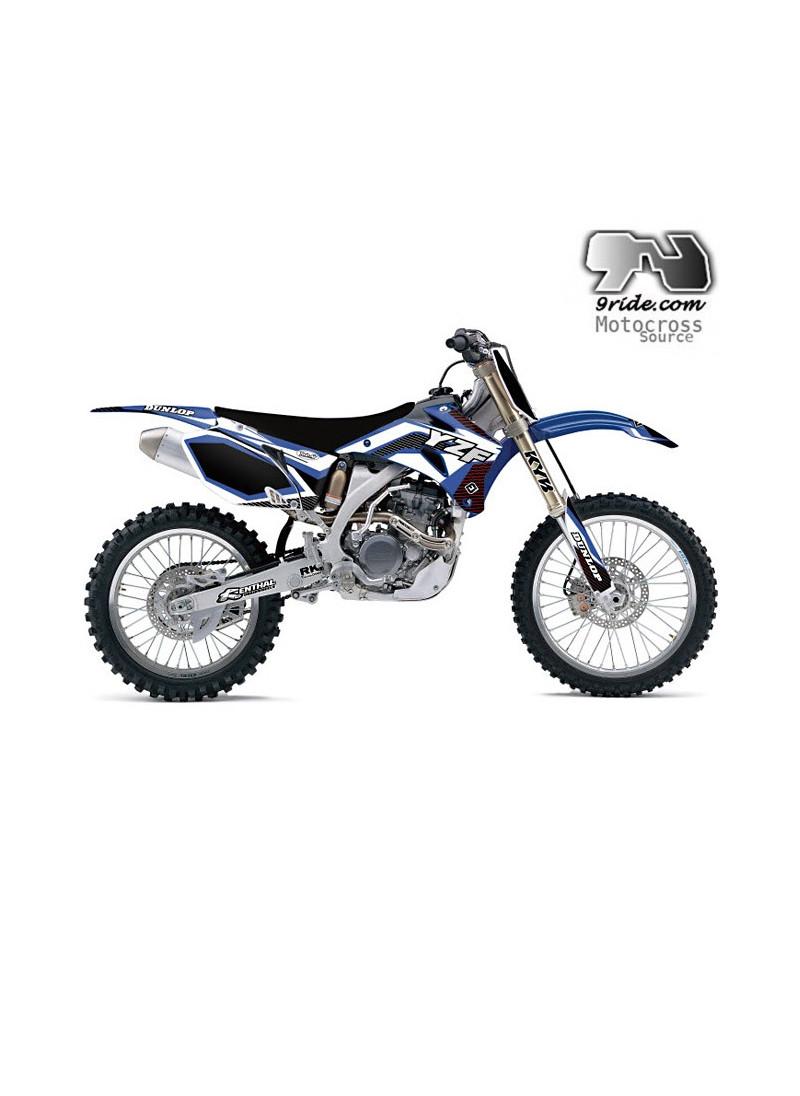 Kit deco Yamaha 250 YZF Flu Designs 2010-2011-2012-2013