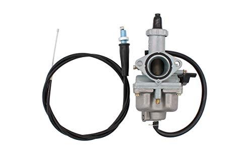 Hand Choke Carburetor w/Throttle Cable Carb for Honda