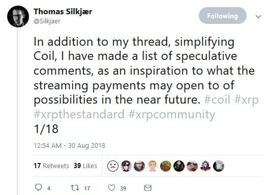 Thomas Silkjaer Tweet