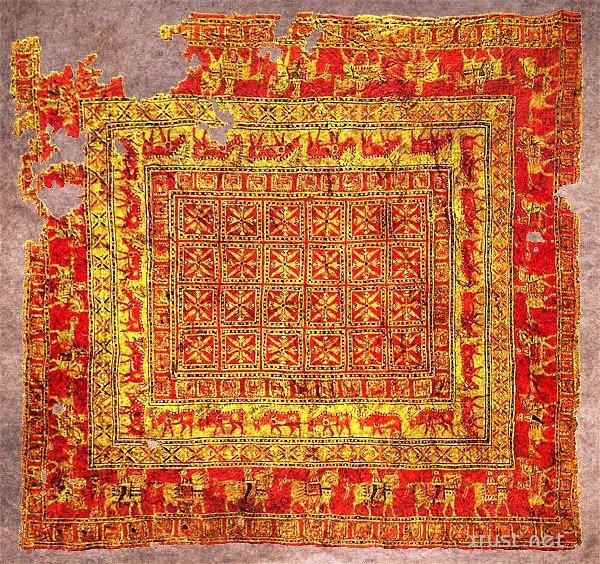 Самый древний ковер в мире