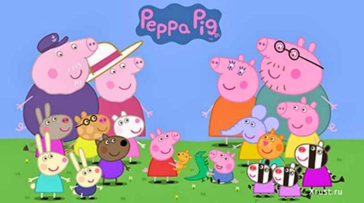 Свинка Пеппа - полезные советы и развлечения для самых маленьких!