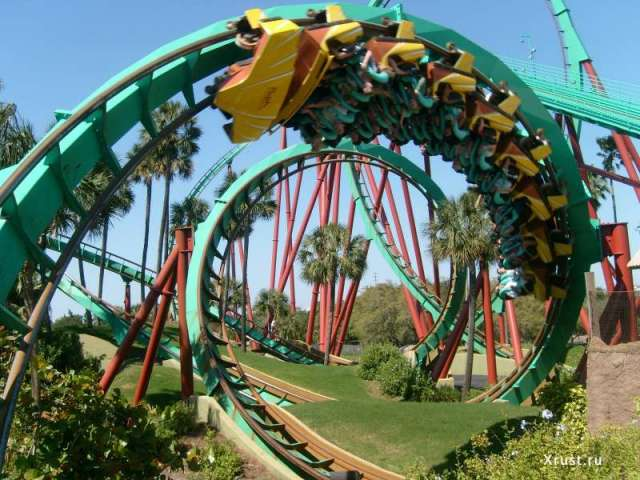 Экономическая стратегия RollerCoaster - управляй собственным парком развлечений