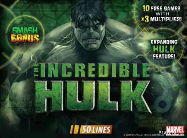 The Incredible Hulk в казино Вулкан Старс