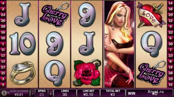 Cherry Love в казино Вулкан Делюкс