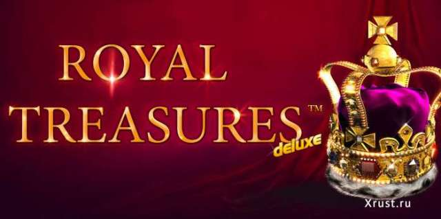 Новый игровой автомат Royal Treasures для игры на деньги в казино Вулкан Платинум