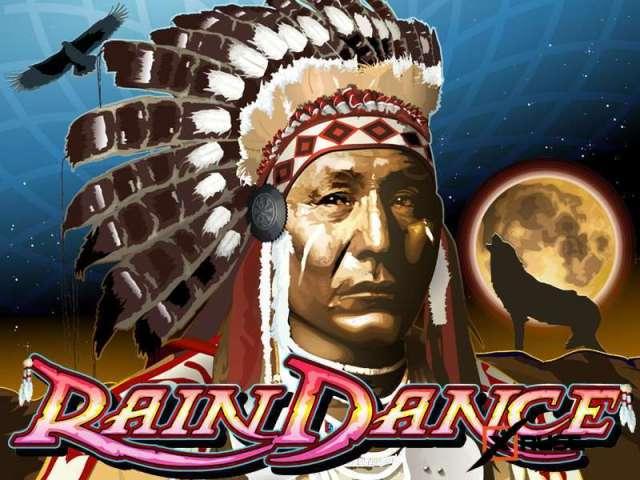 Rain Dance. Автомат на деньги в казино Вулкан