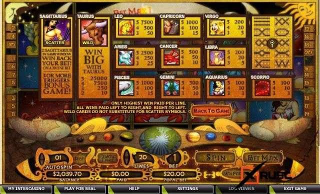 Daily Horoscope. Новый игровой автомат в ДжойКазино