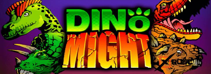 Игровой автомат Dino Might в казино Вулкан 24