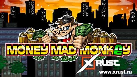 Игровой автомат Money Mad Monkey в казино Азино 777