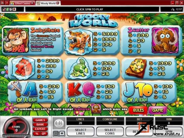 Новый игровой автомат Wooly World в казино Вулкан Делюкс
