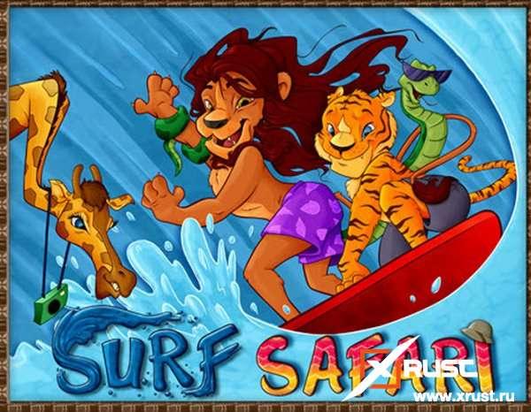 Мобильный игровой автомат в казино Азино 777 - Surf Safari