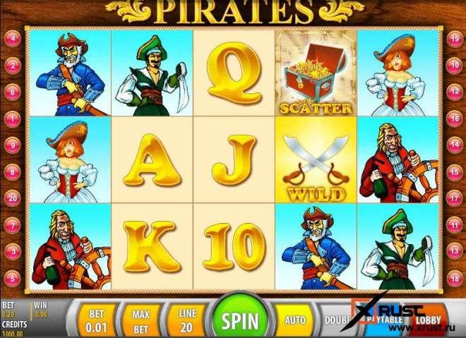 Игровой автомат Пират в онлайн казино Русский Вулкан