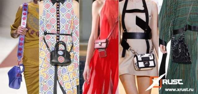 Модная вещь - микросумка