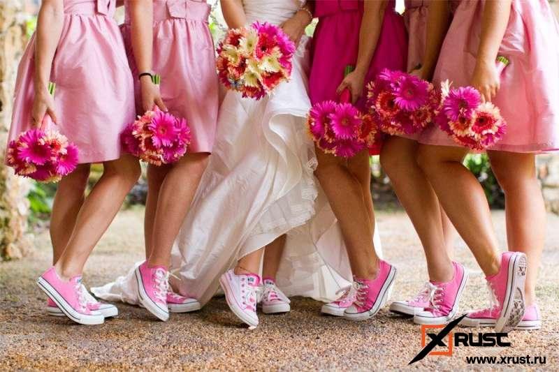 Модный тренд 2019 года: свадьба в кедах