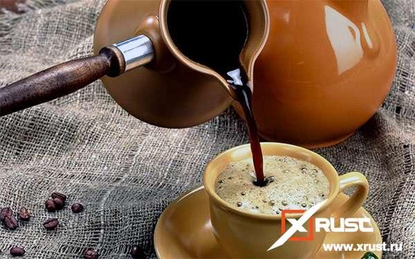 Готовим правильно кофе в турке