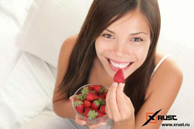Разгрузочный день на ягодах