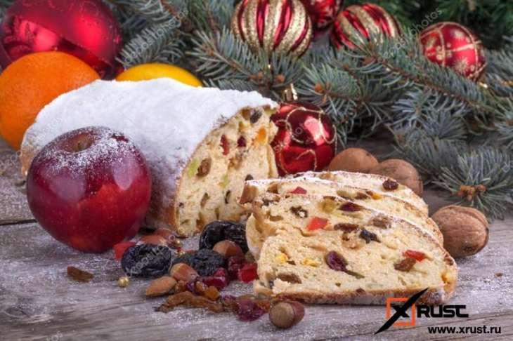 Рождественский сладкий хлеб