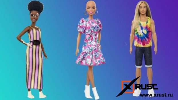 Кукла Барби станет инклюзивной
