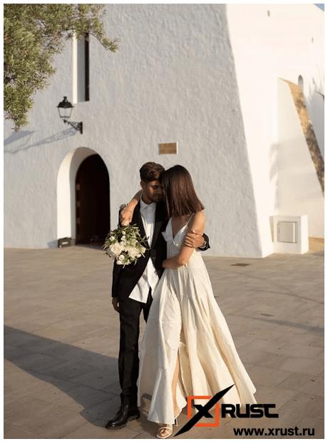Топ-модель, бывшая лесбиянка, вышла замуж