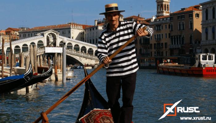 Ограничения на толстых пассажиров в Венеции
