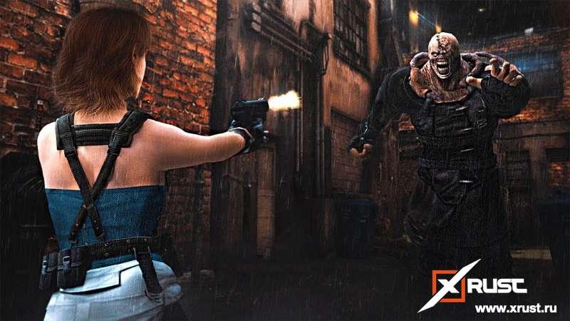 Resident Evil 3. Зомби во время чумы