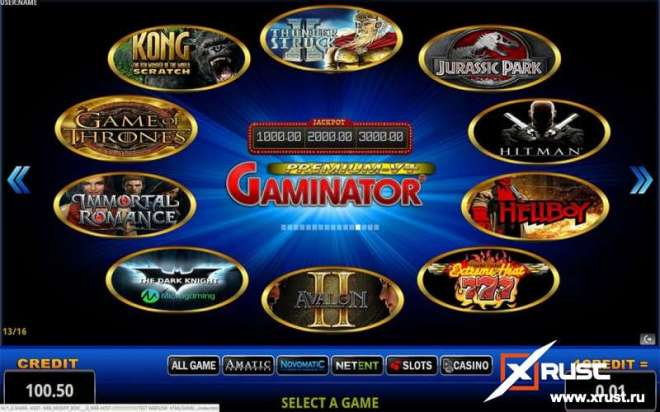 Gaminator Casino и два новых игровых автомата
