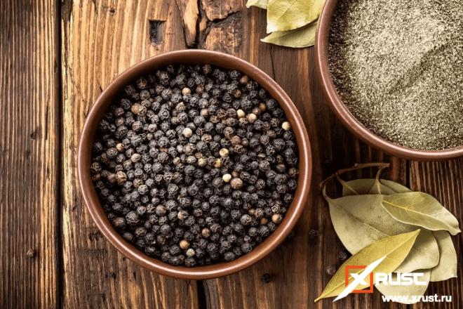 В борьбе с коронавирусом поможет чёрный перец